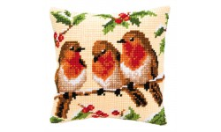 Robin Trio Large Holed Tapestry Kit