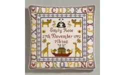 Alphabet Birth Tapestry Cushion Kit